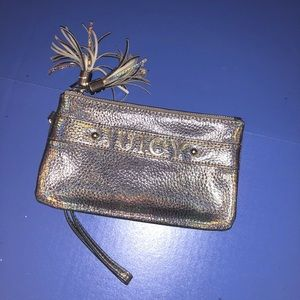 Juicy Iridescent Wristlet Wallet